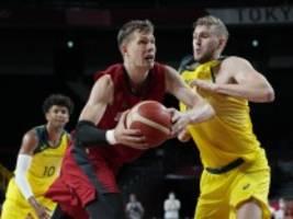 Basketball bei Olympia: Glückwünsche trotz der Niederlage