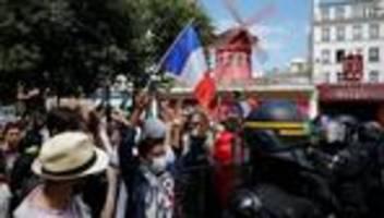 Frankreich: Landesweite Proteste gegen Corona-Maßnahmen dauern an