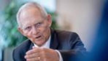 Klimaschutz: Wolfgang Schäuble für schnelleren Anstieg des CO2-Preises