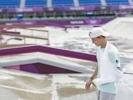 Edtmayer im Training gestürzt: Skateboarder will Armbruch-Schock trotzen