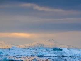 Rekordtemperaturen gemessen: Grönlands Eis schmilzt dramatisch schnell