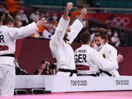 Spektakuläre Olympia-Premiere: Deutsches Judo-Team erkämpft sich Bronze