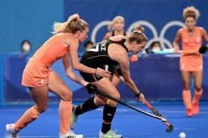 Olympia: Hockey-Damen unterliegen Niederlande im Gruppenfinale