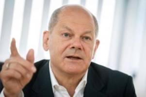 Bundeswirtschaftsminister: Scholz: BGH-Entscheidung zu Cum-Ex eine gute Sache