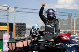 Formel 1: Hamilton rast zur Ungarn-Pole - Verstappen chancenlos