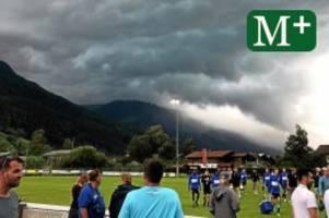 Hertha BSC: Unwetter stoppt Herthas Generalprobe