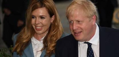 Carrie und Boris Johnson verkünden erneute Schwangerschaft auf Instagram