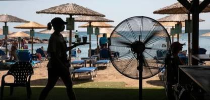 Griechenland: Meteorologen erwarten historische Hitzewelle