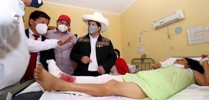 Peru: Dutzende Verletzte nach schwerem Erdbeben