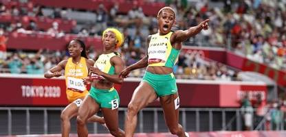 olympia 2021: thompson-herah läuft olympischen sprint-rekord - endlose kraft