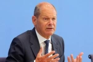 Prozesse: Scholz: BGH-Entscheidung zu Cum-Ex-Geschäften gute Sache