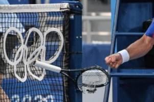 Olympia 2021: Tennis-Star Novak Djokovic rastet bei Bronze-Spiel aus