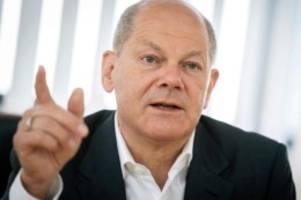 bundestag: spd-kanzlerkandidat scholz auf wahlkampftour in mv