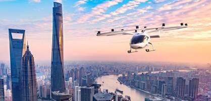 Wie diese fliegende Drohne in Zukunft dem Taxi Konkurrenz machen will