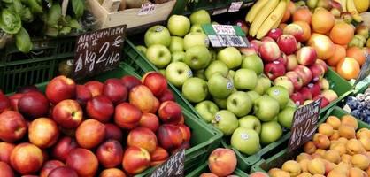 Im Supermarkt haben wir die Qual der Wahl