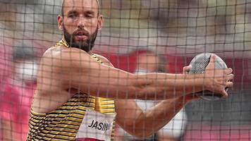 Olympia - Deutsche Gold-Serie vorbei: Diskuswerfer Jasinski Zehnter