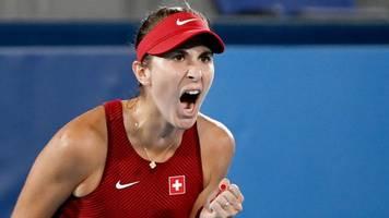 Olympia: Schweizerin Bencic holt überraschend Gold im Tennis