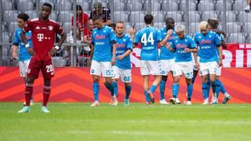 Saisonvorbereitung - 0:3 gegen Neapel - Nagelsmann: Fühlt sich nicht gut an