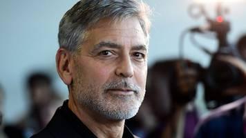 Hollywoodstar: Clooney besucht nach Unwettern italienische Wahlheimat