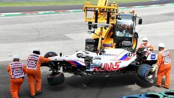 Formel 1 in Ungarn: Schumacher droht Aus für Qualifying – Crash im 3. Training