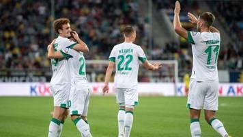 2. Liga: Werder gewinnt Topspiel - Regensburg mit KSC an der Spitze
