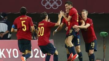 Olympia 2021: Spanien gewinnt turbulentes Viertelfinale
