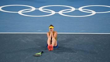 Olympia - Nach Hochzeit: Tennisspielerin Switolina gewinnt Bronze