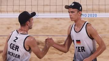 olympia: thole/wickler folgen kozuch/ludwig ins achtelfinale
