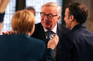 Juncker über Merkel: Sie hat sich nie produziert, sondern gewirkt