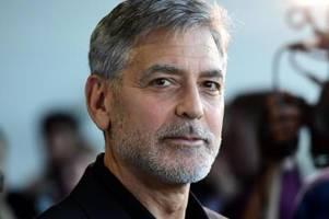 Clooney besucht nach Unwettern italienische Wahlheimat