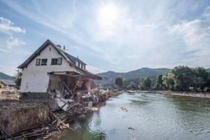 Experten: Ausmaß der Belastung der Ahr nach Flut noch unklar