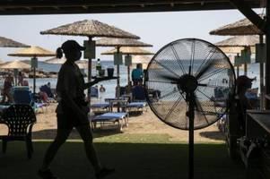 meteorologen: historische hitze in griechenland