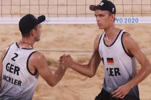 Beachvolleyball-Duo Thole/Wickler im Achtelfinale