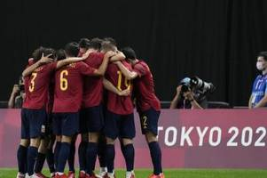 Spaniens Fußballer erreichen Olympia-Halbfinale