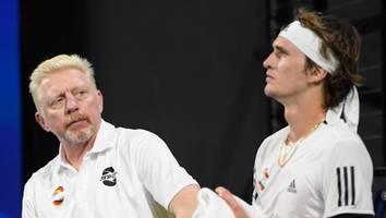 """tennis bei olympia - becker lobt zverev als teufelskerl -""""jetzt hol gold für deutschland nach hause!"""""""