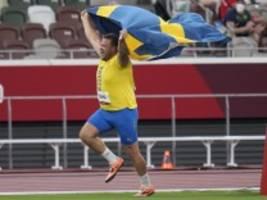 diskuswerfen: erst werfen, dann sprinten