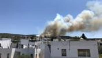 türkei: weitere dörfer wegen waldbränden evakuiert