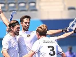 Hockey-Herren im Halbfinale: Nach Hitzeprobe winkt irre Medaillen-Serie