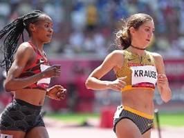 Starker Eindruck über 3000 Meter: Krause mit zweitbester Vorlaufzeit im Finale