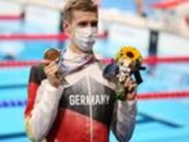 florian wellbrock gewinnt bronzemedaille