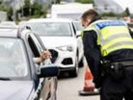Berliner Bundespolizei kontrolliert neue Corona-Regeln an der Grenze zu Polen