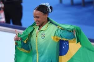 Olympia: Nach Biles-Verzicht: Brasilianerin Andrade holt Sprung-Gold