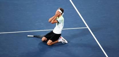 Olympia 2021: Tennis-Gold für Alexander Zverev - »So viel größer als alles andere«