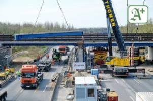 Nächste Staufalle: Autobahn 25 seit Montag für mehrere Wochen Baustelle