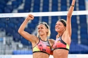"Olympia: Beachvolleyball: ""Affengeil"": Ludwig/Kozuch überraschen Brasiliens Topteam"