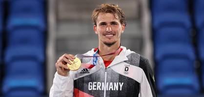 Alexander Zverev holt historisches Olympia-Gold
