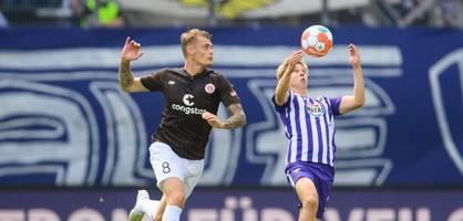 Erzgebirge Aue gegen FC St. Pauli – Die Highlights im Video