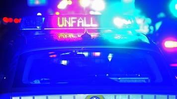 Drei Verletzte bei Verkehrsunfall auf A24