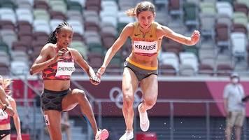 Olympia: Hindernisläuferin Krause läuft souverän ins Finale