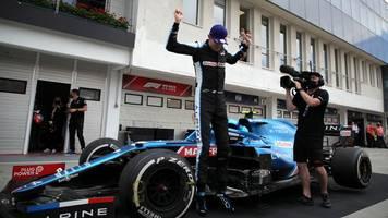 Formel 1 - Irres Ungarn-Rennen: Ocon gewinnt - Vettel-Podest in Gefahr